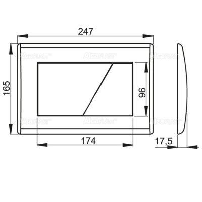 ALCAPLAST-M170-M171-M172-MEDIDAS