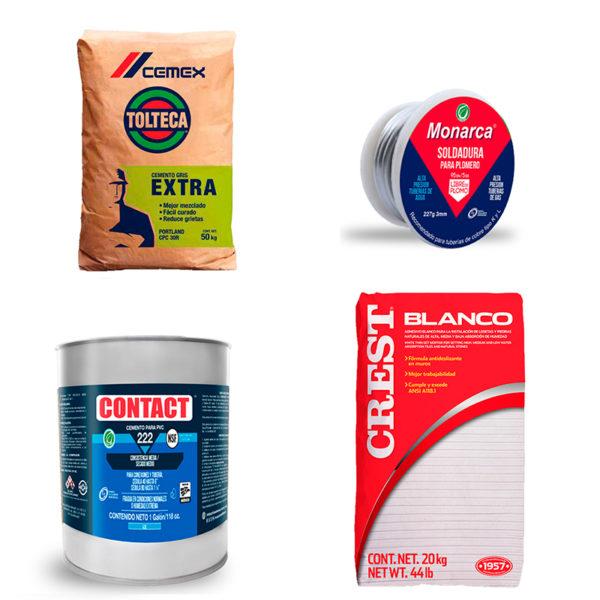 Cementos , Adhesivos, Lubricantes y Soldadura